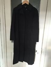 DKNY Long Maxi Trench Coat Black Size P