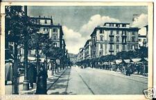 li 51 1937 LA SPEZIA Corso Cavour - viagg - FP- Ed. Marzari Schio
