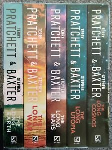 Terry Pratchett Stephen Baxter The Long Earth Complete Collection 5 Book Box Set