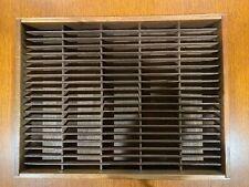 2-100 Tape Capacity Wood Cassette Holder Wall Storage Display Rack Napa Valley