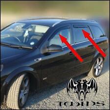 4 Deflettori Aria Antiturbo Oscurati Opel Astra H Station Wagon SW Sports Tourer