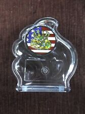 team lot of 20 Basketball trophy clear acrylic wave award patriotic insert