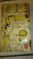 Isabelle Hausser - La Table des enfants