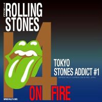 THE ROLLING STONES 14 ON FIRE ADDICT 1 TOKYO JPN 2CD EVSD-671 672 ROCK BAND