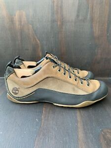 Timberland Mt Rainier 77506 Size 11 M Brown Leather Lace Up Hiking Mens Shoes