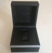 Scatola HAMILTON Vintage Watch Box Black 13 13.5 cm