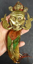 TIBETAN SACRED SKULL THOKCHA THOGCHAG AMULET FOR PROTECTION, LUCK & LOVE SAFETY