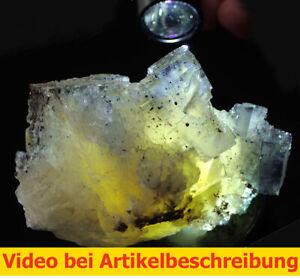 7649 Fluorit Aragonit Chalkopyrit ca7*8,5*6cm Annabel Lee Illinois USA  MOVIE