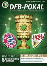 DFB-Pokalfinale 01.06.2013 FC Bayern München - VfB Stuttgart in Berlin +Poster