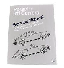 Porsche 911 Coupe Targa Cabriolet 1984-1989 Service Repair Manual Bentley