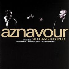 CHARLES AZNAVOUR - 20 CHANSONS D'OR (2004 EDITION) (NEW CD)