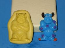 Monsters Inc Sulley Monster Silicone Push Mold Food A173 Cup Cake Topper Candy