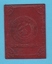 c1910s tobacco leather Dickinson College Embossed College seal