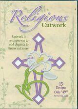 Dakota Embroidery Design CD-Religious Cutwork 5x7 Sewing Field  (970511)