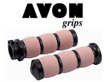Avon Air amortiguado manejas, negro - rosa, BILLETE aluminio, HARLEY - Davidson