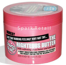 Soap and Glory THE RIGHTEOUS BUTTER Body Cream 300ml Shea Butter & Aloe Vera