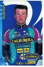 CYCLISME carte cycliste APOLLONIO MASSIMO équipe VINI CALDIROLA 2000
