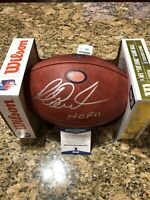 Richard Dent Signed Official NFL 100 Anniversary Bears DUKE Football Beckett COA