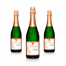 3x Sekt Cuvée Blanc extra-trocken - Weingut Dr. Schandelmeier