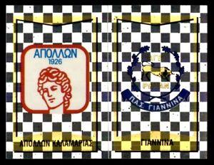 Panini Greece Football/Podosfairo 97 - Badge Apollon Pontou FC / Ioannina No.345