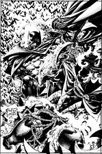Batman verse Spawn by Philip Tan ***Charity Auction*** 11 by 17