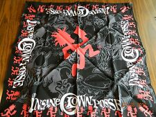 MIP-Offically Licened INSANE CLOWN POSSE multi-colored Hatchetman Bandanna