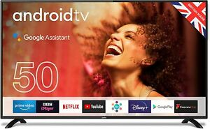 "CELLO C5020G 50"" FULL HD LED TV WITH ANDROID TV – NEW WITH WARRRANTY"