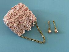 New ListingVintage Doll Accessory: Orig Madame Alexander Cissy Jewelry Earrings & Purse
