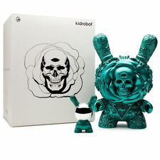 Arcane Divination Clairvoyant Teal Medium Dunny JRyu x Kidrobot Limited Ed