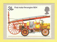 BRITISH POST OFFICE  -  RARE  PHQ  CARD  NO. 6  -  FIRE  ENGINE  - 1974