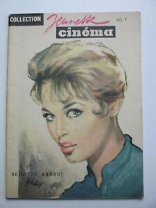 BRIGITTE BARDOT Collection Jeunesse Cinéma 1958 Photos revue ancienne BB