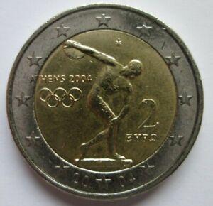 2 euro commémorative Grèce 2004