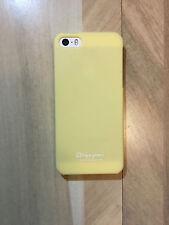 HAPPYMORI iPhone Case for Apple iPhone SE / iPhone 5S Yellow