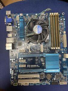 Gigabyte GA-Z77-D3H Motherboard i7 2600-K CPU 16GB RAM minor faults