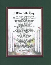 I Miss My Dog... #183, (Female) Poem Coping With The Loss of A Dog