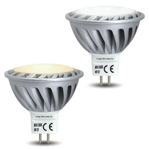 LED 4W MR16 12V Light Bulb Low Voltage Spotlight Super Bright Warm / Cool White