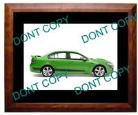2008 FORD FPV GT (GREEN) LARGE A3 PHOTO 1