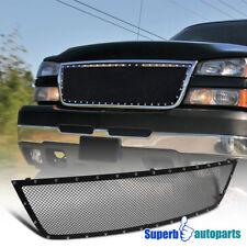 For 2005-2007 Silverado 1500HD 2500HD 3500 Upper Hood Grille Insert Rivet Style