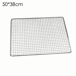 BBQ Stainless Steel Grill Grate Grid Wire Mesh Rack Cook Replacement Net Outdoor