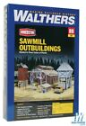 Walthers 933-3144 Sawmill Outbuildings Kit HO Scale Train