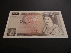 B360 -  BANK OF ENGLAND £10 POUND NOTE - G.E.A.KENTFIELD - KN81 724896