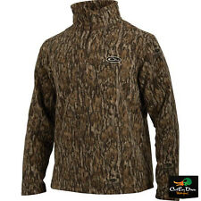 NEW DRAKE WATERFOWL SYSTEMS MST CAMP FLEECE PULLOVER BOTTOMLAND CAMO 2XL