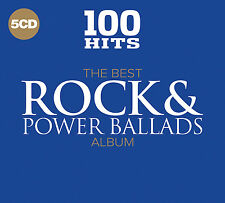 100 Hits - The Best Rock and Power Ballads Album 5cd &