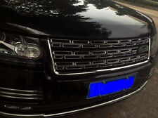 Black Front Honeycomb Mesh Grille Fit for Land Rover Range Rover Full Size 13-18