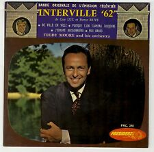"EP TV ""Interville 62"" Guy Lux Zitrone Simone Langlois Teddy Moore EXC/VG+ *"