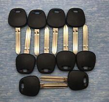 10 Pc Lot of Toyota TOY44G 2010-2014 G-Chip Transponder Keys (Generic Brand)