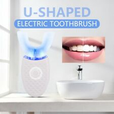 Wireless 360° Automatic Sonic Electric Brush Whitening Toothbrush Rechargeable
