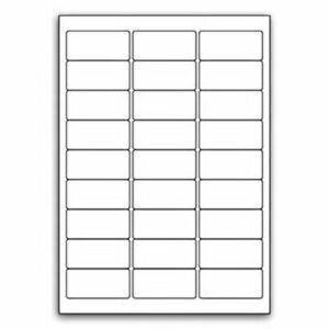 1350 White Self Adhesive Printer Address Label Amazon FBA Barcode Stickers 27up