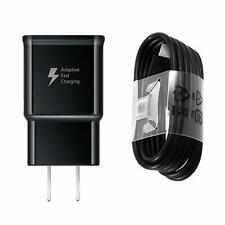 ORIGINAL SAMSUNG FAST CHARGER+TYPE C USB CABLE FOR SAMSUNG GALAXY TAB S4 (BLACK)