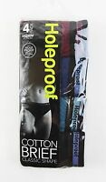 MENS HOLEPROOF COTTON BRIEF CLASSIC SHAPE UNDERWEAR 4 PAIRS or 8 PAIRS